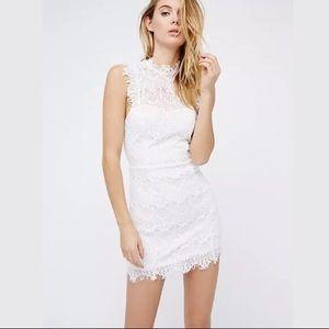 Free People intimately daydream lace slip dress